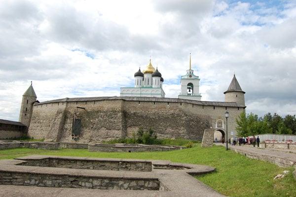Псковский кремль / Фото из Латвии