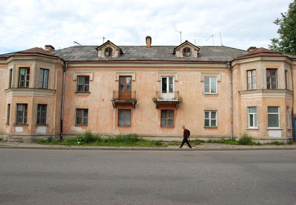 Старый дом в Пскове / Фото из Латвии