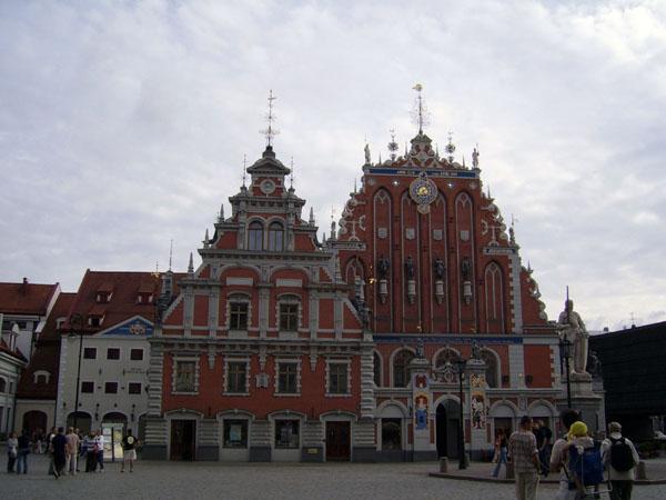Дом Черноголовых, Рига / Фото из Латвии