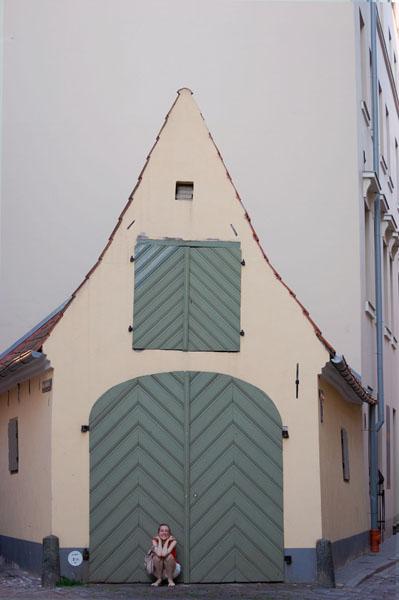 Домик в Старой Риге / Фото из Латвии