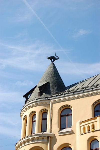Кошкин дом в Риге / Фото из Латвии