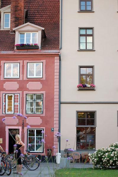 Цветные домики Риги / Фото из Латвии