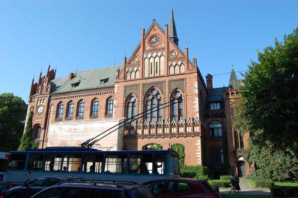 Академия художеств в Риге / Фото из Латвии