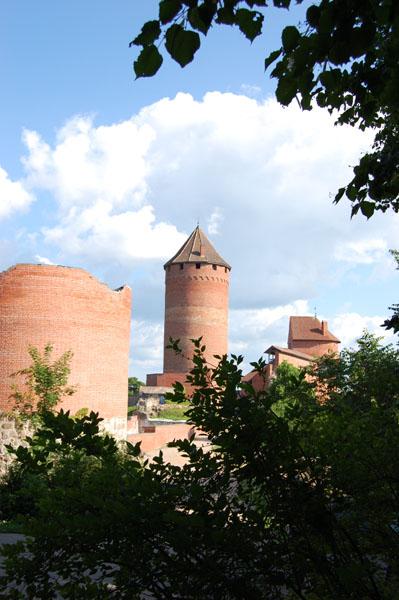 Вид на Турайдский замок / Фото из Латвии