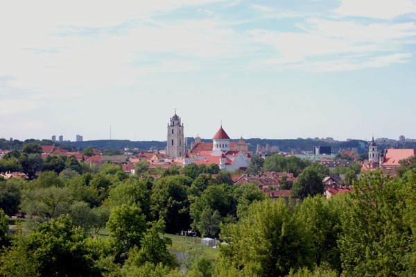 Панорама Вильнюса / Фото из Латвии