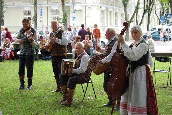 Праздник тысячелетия Литвы в Вильнюсе / Фото из Латвии