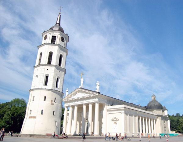 Кафедральный собор Святого Станислава в Вильнюсе / Фото из Латвии