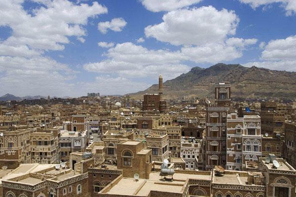 Вид на крышы Саны / Фото из Йемена