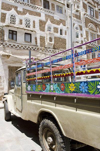 Сана - город с необыкновенным колоритом / Фото из Йемена