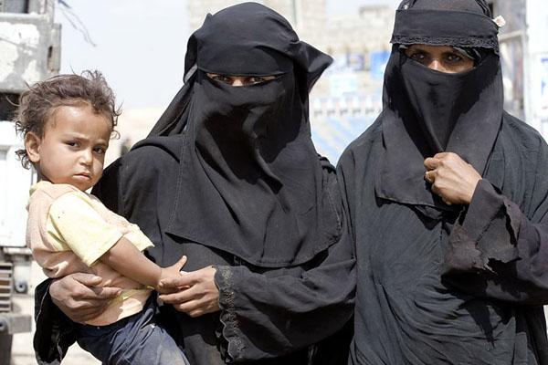 Жительницы Йемена / Фото из Йемена