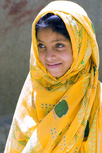 Юная йеменка / Фото из Йемена