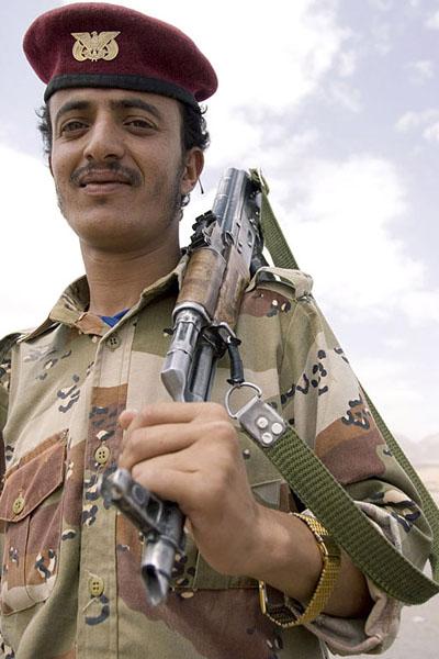 К русским йеменцы относятся очень тепло / Фото из Йемена