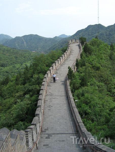 Прогулка по стене может быть утомительной, но это того стоит! / Фото из Китая