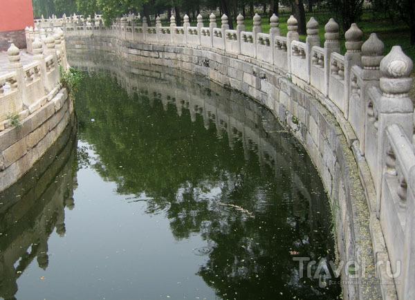 Золотой ручей в Запретном городе, Пекин / Фото из Китая
