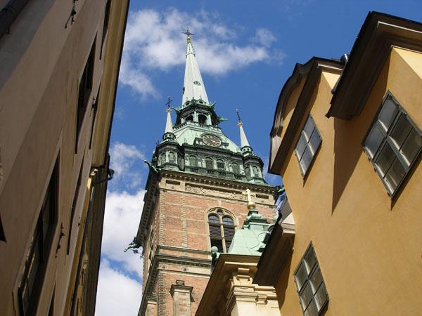 Знакомство стоит начать с прогулки по центру Стокгольма / Фото из Швеции