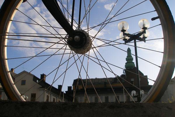 Совершить экскурсию по Стокгольму можно на велосипеде / Фото из Швеции