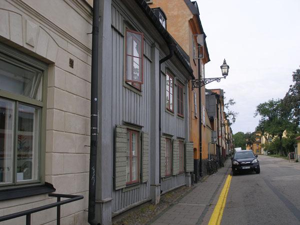 Улица Fjällgatan - стокгольмский Монмартр / Фото из Швеции