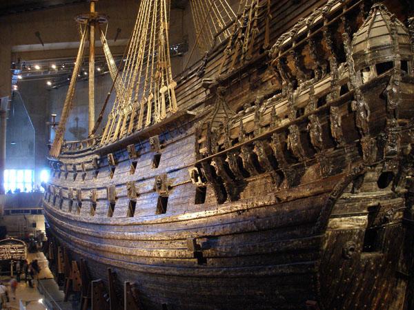 Кораблю Vasa посвящен целый музей, Стокгольм / Фото из Швеции