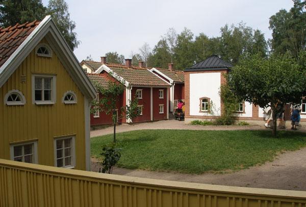 Так город выглядел при Астрид Линдгрен / Фото из Швеции