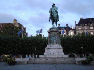 Памятник Карлу Х (Густаву) / Швеция