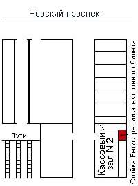 Санкт-Петербург, Московский вокзал