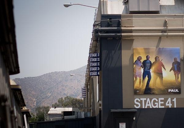 Голливуд интереснее всего смотреть во время съемок кино / Фото из США