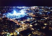 Вид на город / США