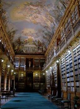 Библиотека Страговского монастыря / Чехия