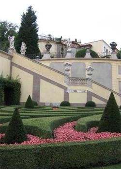 Уголок Вртбовского сада / Чехия