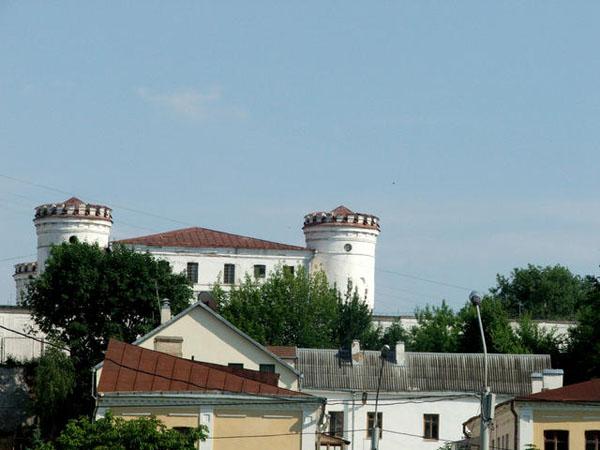 Вид на Пищаловский замок в Минске / Фото из Белоруссии