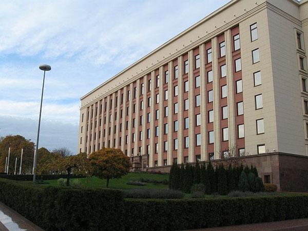 Фасад резиденции президента, Минск / Фото из Белоруссии
