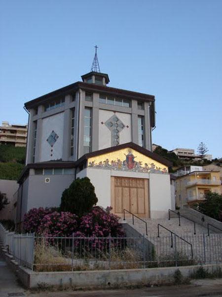 Католический храм в Алькамо-Марина, Сицилия / Фото из Италии