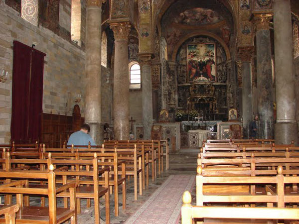 Внутренее убранство собора Сан-Катальдо, Палермо / Фото из Италии