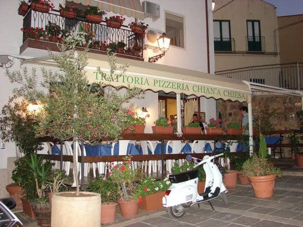 Пиццерия в Сант-Амброджио, Сицилия / Фото из Италии