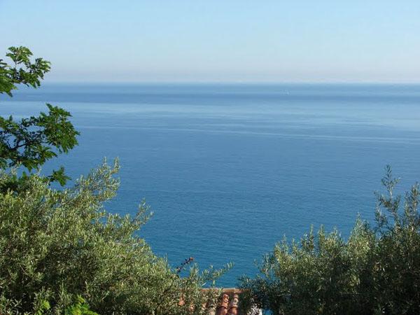 Вид на Тирренское море, Сант-Амброджио / Фото из Италии