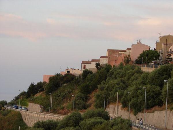 Вечер в Сант-Амброджио / Фото из Италии
