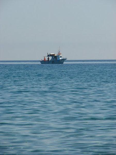 Синее Тирренское море, Сант-Амброджио / Фото из Италии