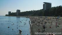 Городской пляж / Абхазия