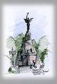 Памятник броненосцу Русалка / Литва