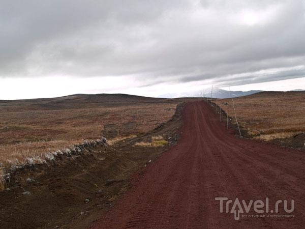 Вулканическая дорога, кальдера Горелого / Фото из России