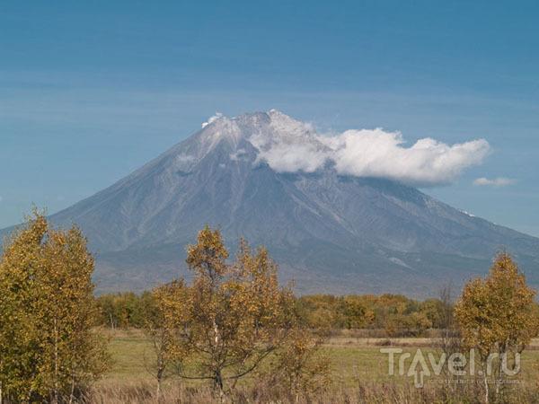 Один из вулканов рядом с Петропавловском / Фото из России