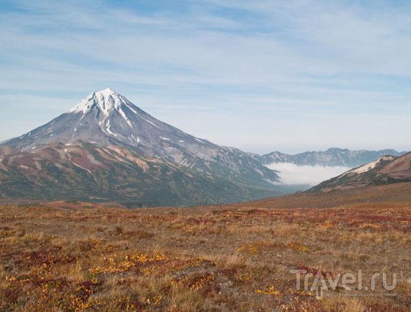 Вилючинский вулкан над облаками / Фото из России
