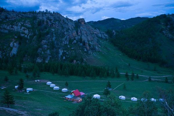 """Туристическая база """"Мелхи-Хад"""" в национальном парке Горхи-Тэрэлж / Фото из Монголии"""