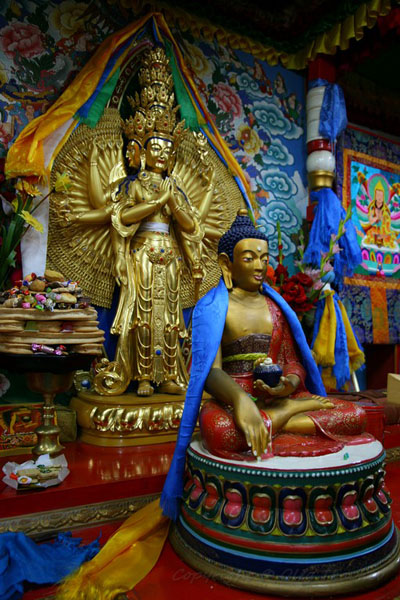 В монастыре Арджапала сегодня располагается медитационный центр / Фото из Монголии