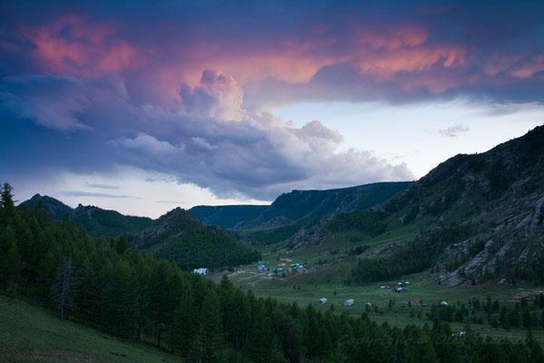 Живописный парк Горхи-Тэрэлж в Монголии / Фото из Монголии