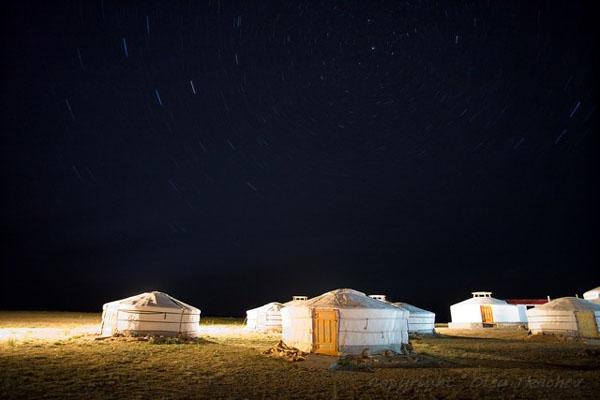 Ночь над пустыней Гоби, Монголия / Фото из Монголии