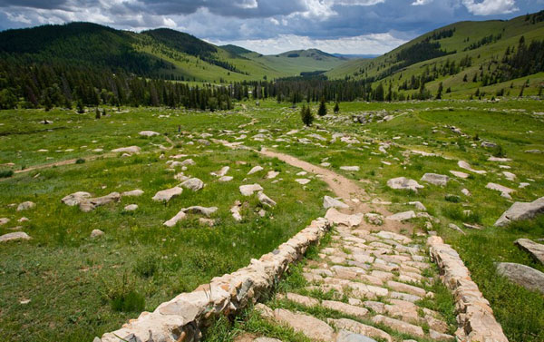 Раньше в долине Манзушир располагался целый город, Монголия / Фото из Монголии