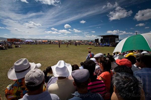 Площадка для борьбы, Монголия / Фото из Монголии