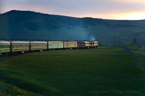 На пути из Улан-Батора в Китай / Фото из Монголии