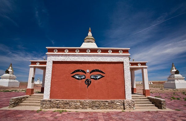 Вход в легендарную Шамбалу, Монголия / Фото из Монголии